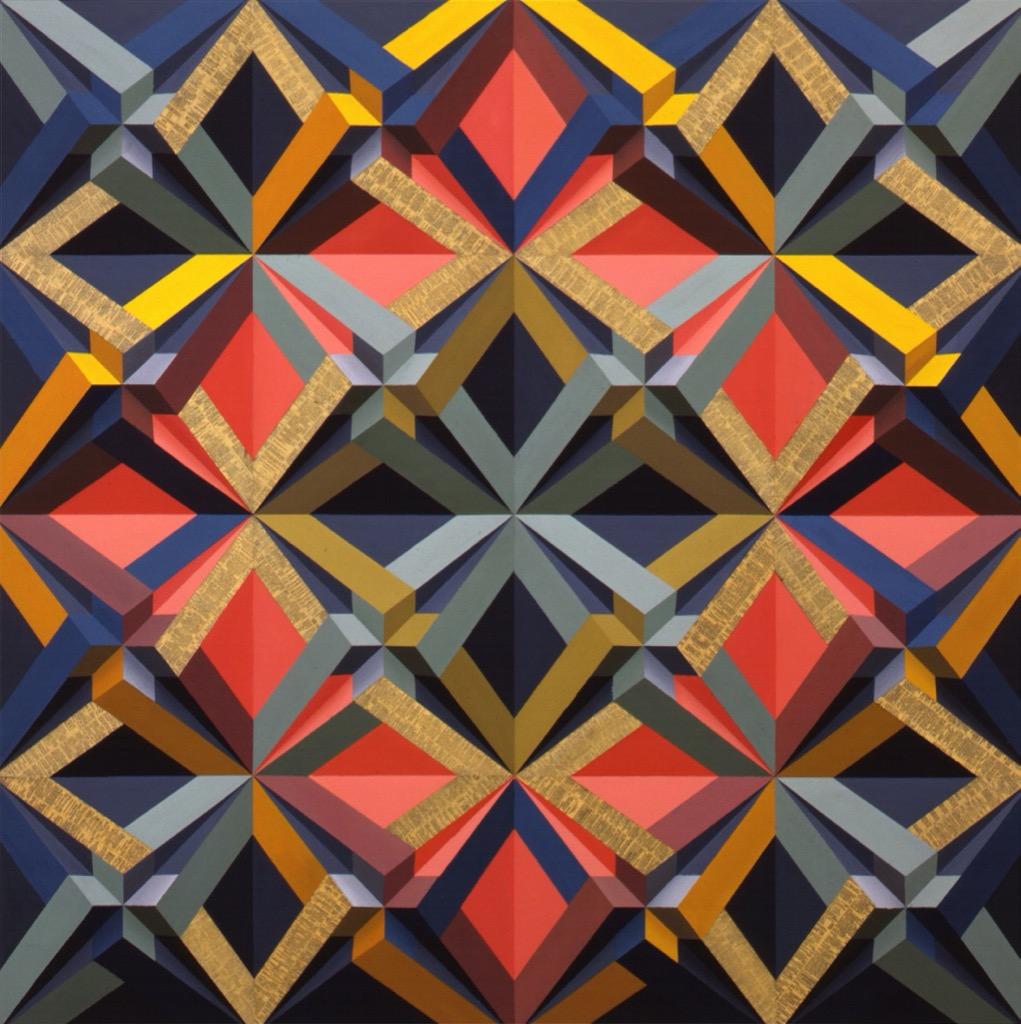 Tony King: Geometric Paintings